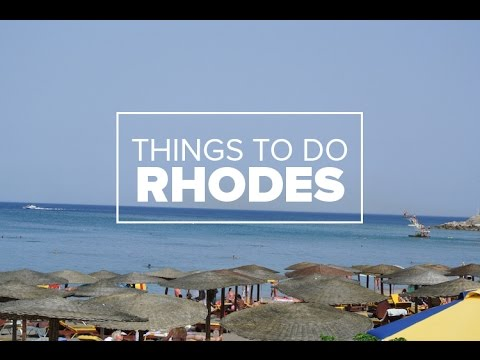 Things To Do In Rhodes, Greece