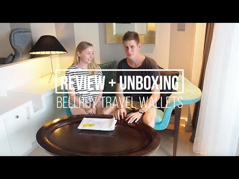 Our Bellroy Review + Unboxing: Travel Wallet + Passport Sleeve