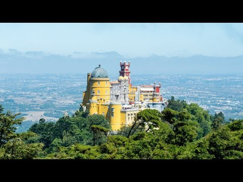 Exploring Pena Palace, Sintra | A Day Trip From Lisbon