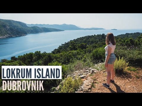 Visiting Lokrum Island | Things To Do In Dubrovnik Croatia