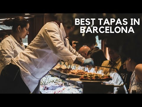 Best Tapas In Barcelona (+ our favourite Paella!) | Spain Travel Guide