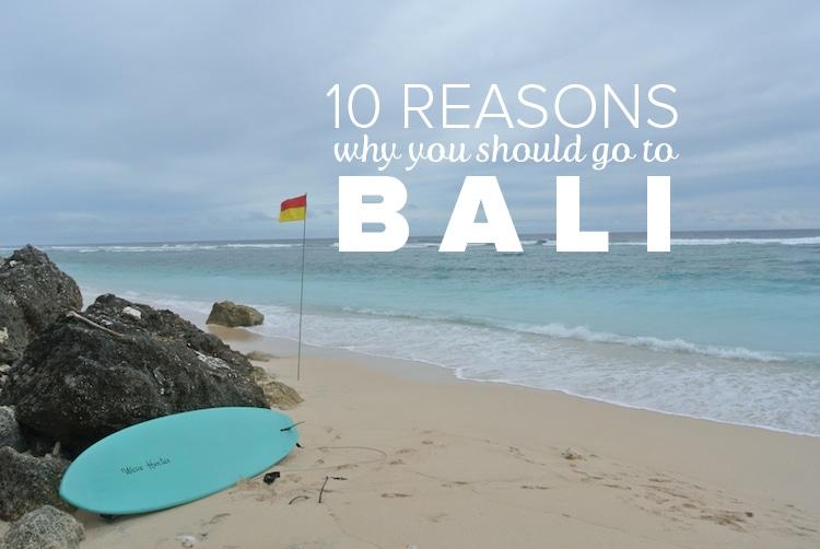 travel reasons bali