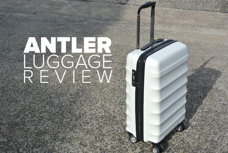Antler luggage reviews