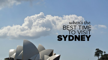Best Time To Visit Sydney