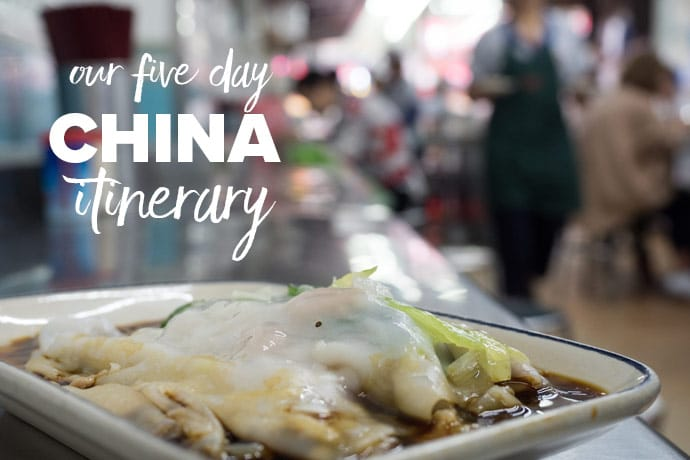 Our 5 Day China Itinerary and travelling overland from Vietnam to Hong Kong