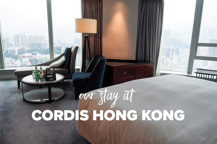 Our Stay at Cordis Hong Kong