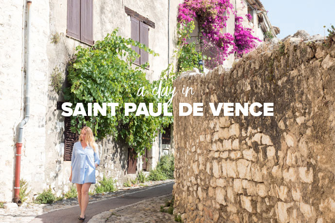 A Day In Saint Paul De Vence France: Day Trips From Nice