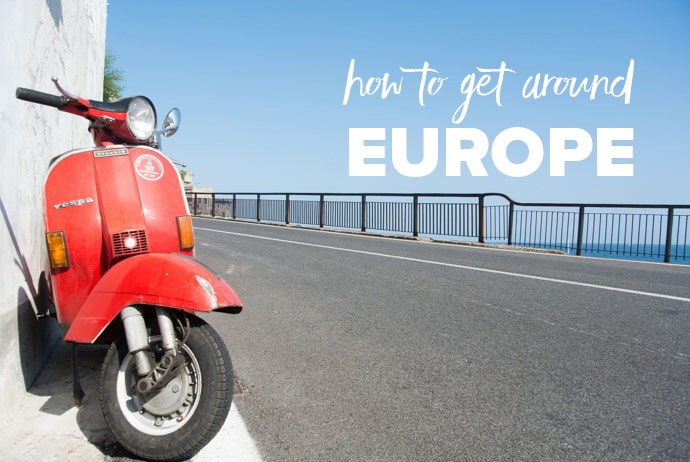How To Get Around Europe: Europe Transport Options