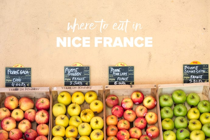 Where To Eat In Nice France