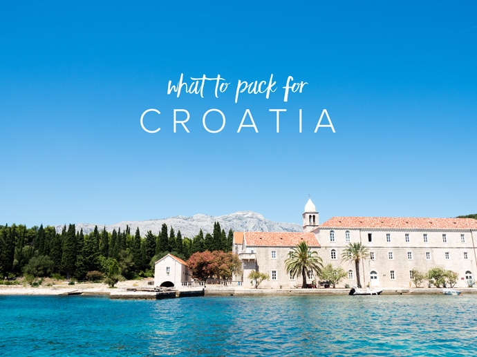 What To Pack For Croatia Carry-On Only (+ Printable Packing List)